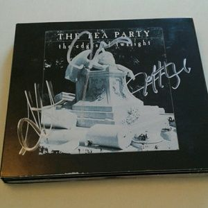 The Tea Party Edge's of Twilight Autographed CD